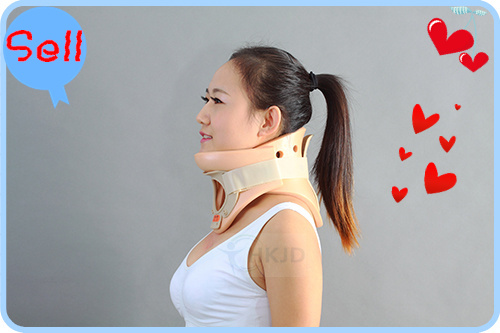New Soft Firm Foam Cervical Collar Support Neck Vertebra Protection Collar neck Support Press Relief Pain Neck Brace medical neck support orthosis adjustable cervical collar device fixed traction braces vertebra rehabilitation head protection