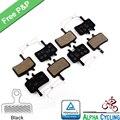 Велосипедные тормозные колодки для AVID BB7 Juicy 3 5 7 дисковый тормоз, 4 пары, черный класс - фото