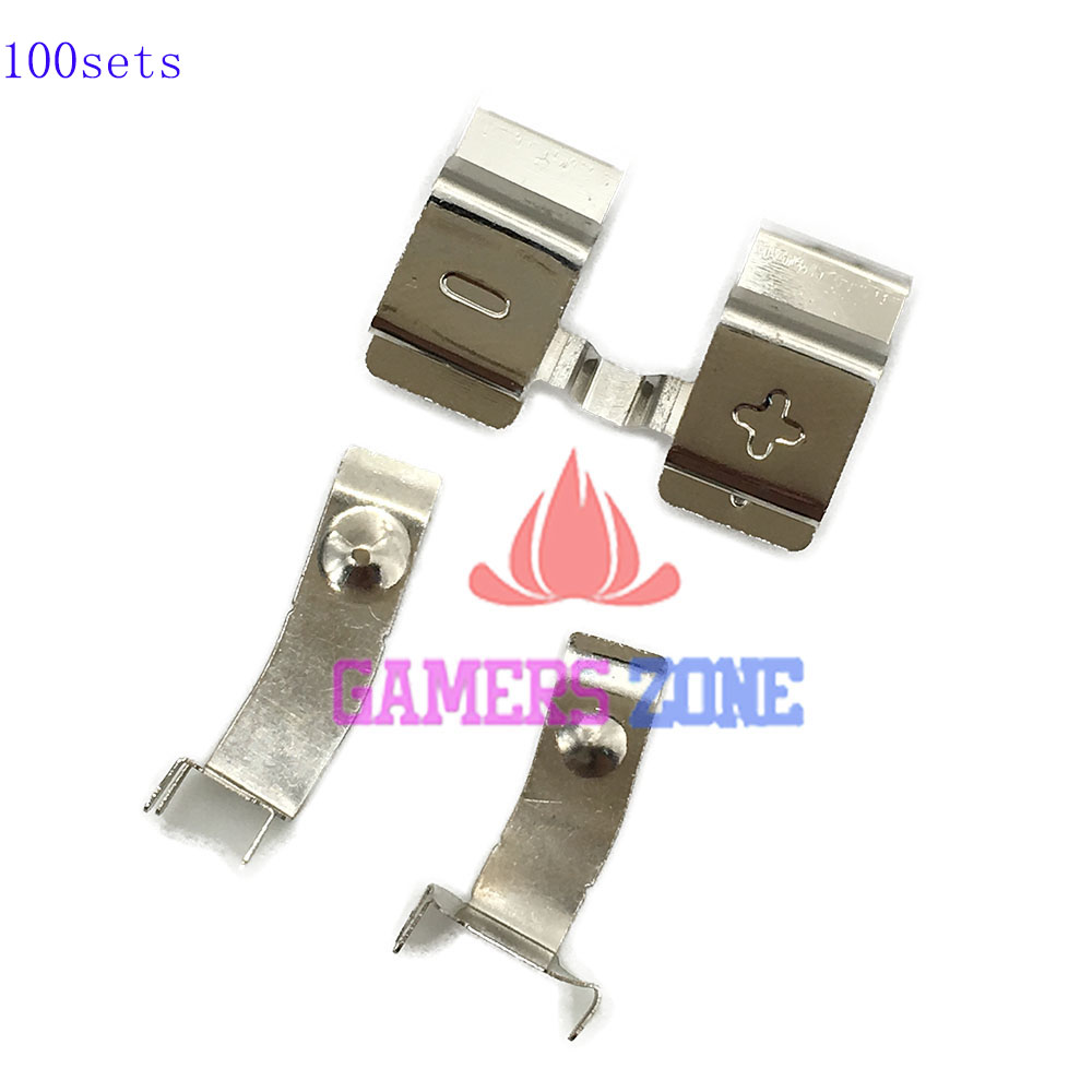 100sets Battery Contact Connector Metal Clip Part for Xbox one Controller Battery Holder Spring