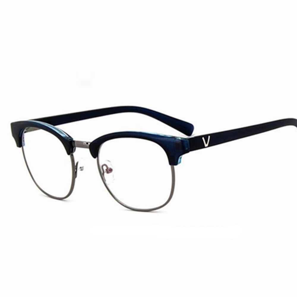 88af39dc71 en Big Square Spectacles Fashion Ultra Light Flexible Acetate TR90 Glasses  Frames with Clip On Sunglasses