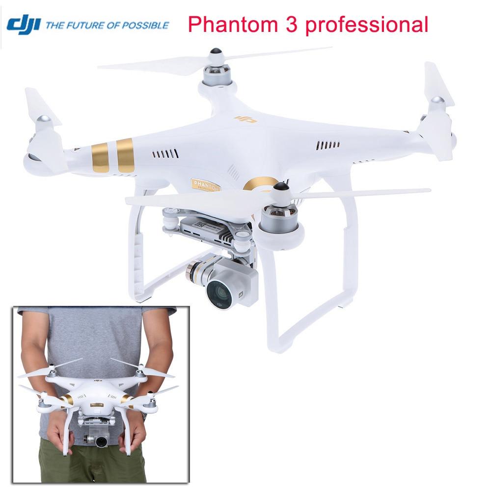DJI Phantom 3 Professional Version With 4K Camera RC Quadcopter Photographer Helicopter RTF 100% original PK Phantom 2 vision