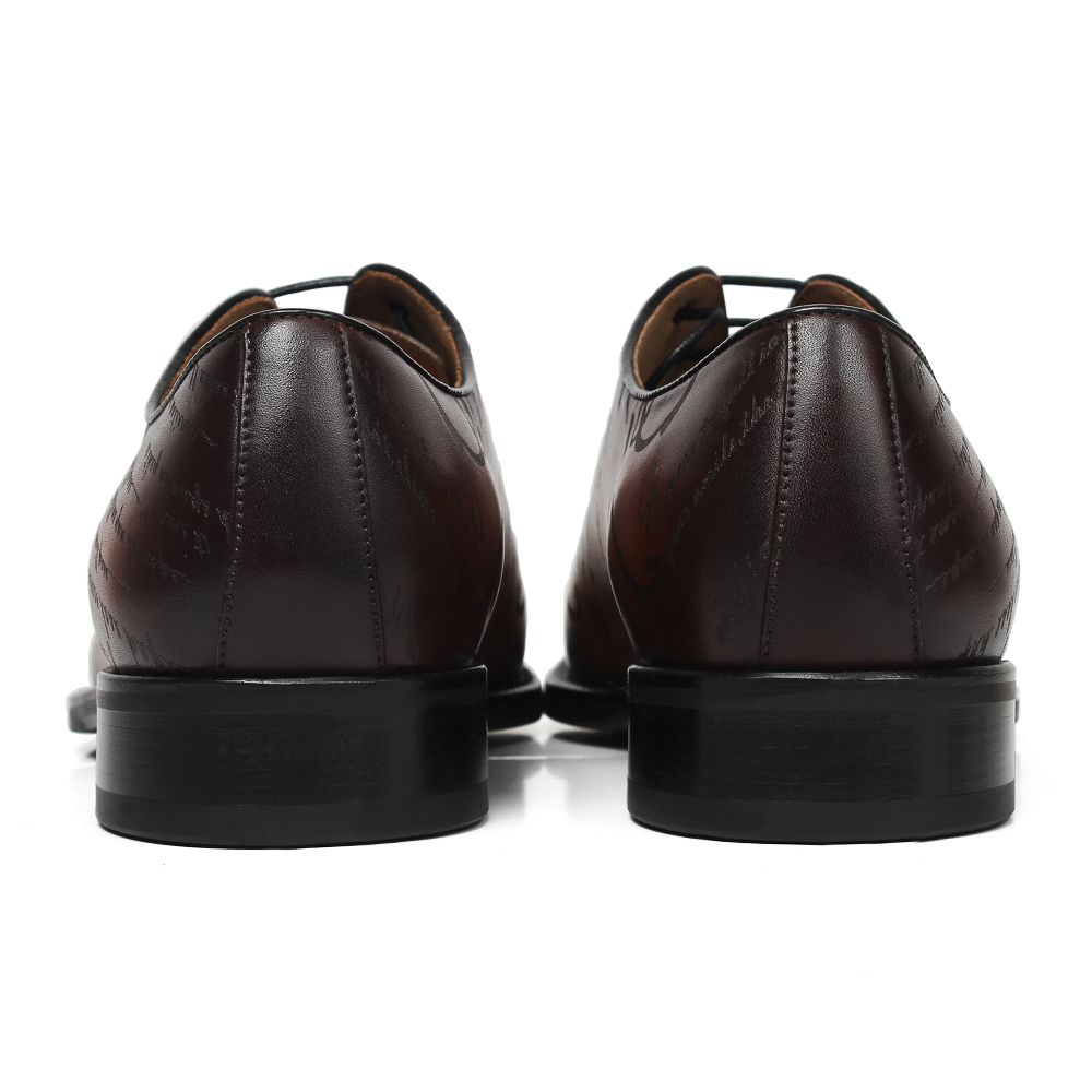 DiscountùVikeduo Oxford-Shoes Italy Wedding-Party Formal Vintage Designer Genuine-Leather Brand