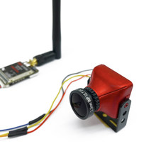 5.8G Mini Video Zender voor FPV Racer drone en FPV CCD Camera 800TVL Camera 2.1mm/2.5mm lens RC auto RC boot FPV set(China)