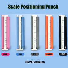Multi Function A4 Paper Perforating Machine B5 26 A5 20 Hole Bookbinding Folder Loose Leaf Punch with Shipping Cost