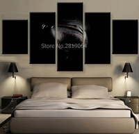 Man Of Steel Canvas Painting Wall Art Prints Home Decor Abstract Picture 5 Panels For Linving