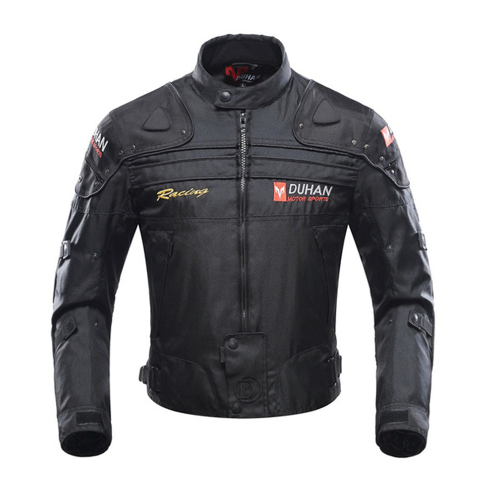 DUHAN Motorcycle Jacket Motorbike Riding Jacket Windproof Motorcycle Full Body Protective Gear Armor Autumn Winter Moto Suits herobiker armor removable neck protection guards riding skating motorcycle racing protective gear full body armor protectors