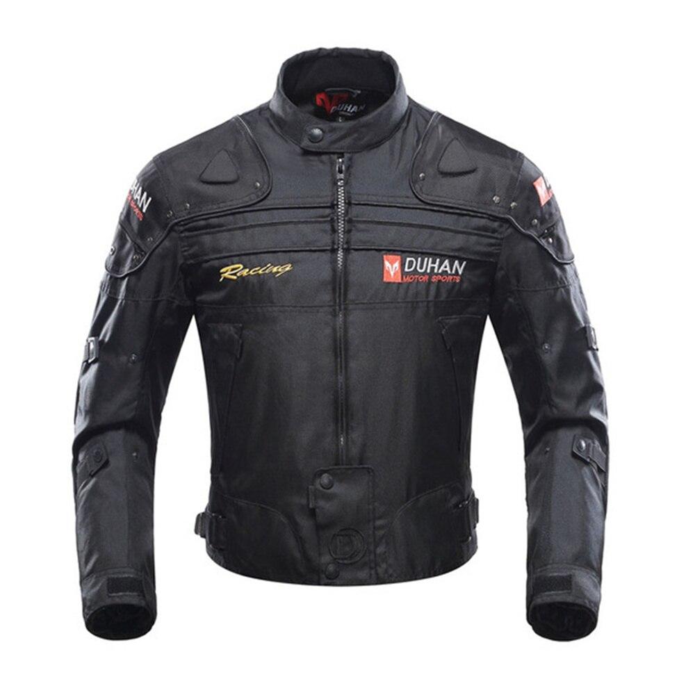 Veste de Moto DUHAN veste de Moto coupe-vent Moto équipement de protection complet du corps armure automne hiver Moto costumes
