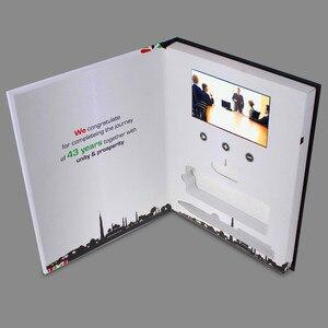 Image 5 - العرف غلاف فني 7 بوصة شاشة كتيب العالمي بطاقات المعايدة الفيديو تصميم الأزياء بطاقات الإعلان الفيديو