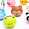 Cute Cartoon Animal head Toothbrush Holder sucker stand  Suction cup Bathroom Sets Randomly send