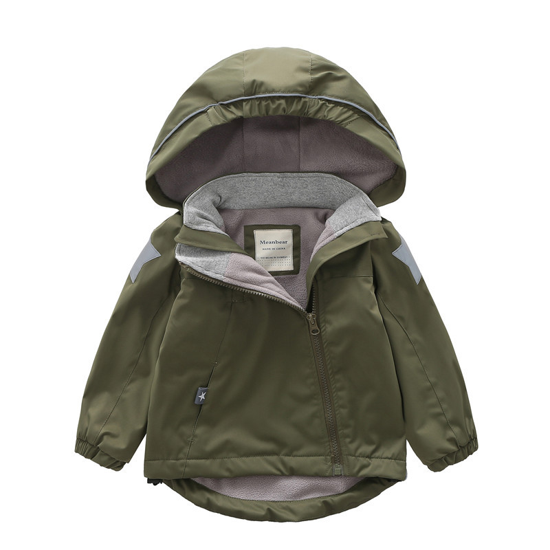 5efcc6bd9 100 140cm Red Blue Cotton Children s Winter Jackets Baby Girl Coat ...