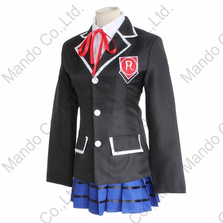 Անիմե DATE A LIVE Yatogami Tohka Cosplay Costume Girls School - Կարնավալային հագուստները - Լուսանկար 4