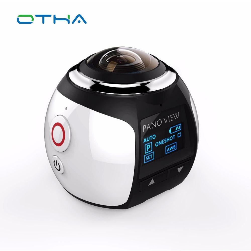 Prix pour V1 360 Caméra 4 k Wifi Mini Caméra Panoramique 2448*2448 Ultra HD Caméra Panoramique 360 Degrés Sport et D'action Conduite VR caméra