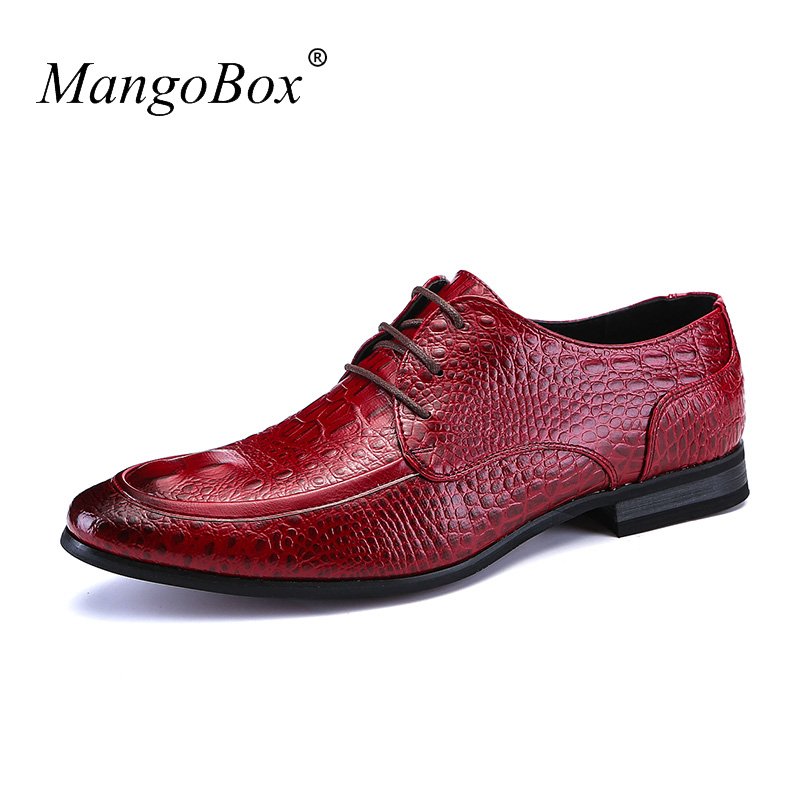 Men's Shoes Casual Fashion Luxury Brand Office Shoes for Men Red European Mens Dress Footwear Designer Moccasins Leather Male blaibilton men casual shoes luxury brand genuine leather flat fashion designer breathable mens shoes casual male footwear sd6219