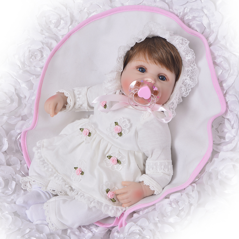 Lifelike Newborn Baby Doll 16 Truly For Kids Educational Toy Realistic Silicone Reborn Dolls Babies Touch