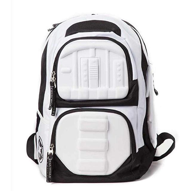 Star Wars Bag Stormtrooper 3d Molded Official White Storm Trooper Backpack