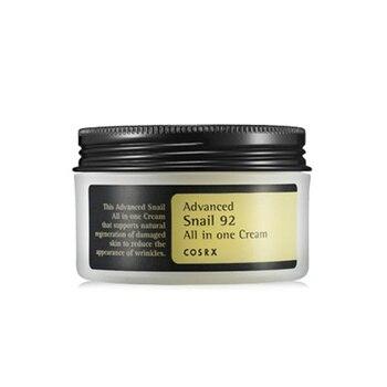 COSRX avanzada Caracol 92 todo en una crema 100ml para el cuidado de la piel hidratante Anti-envejecimiento crema Facial antiarrugas cosmético coreano
