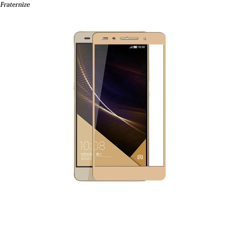 Për Huawei P10 Lite Plus Nova 2 Plus P8 lite 2017 Honor 9 8 V9 6A 5C Enjoy 6S 7 Plus Mbrojtje në ekran të plotë