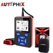 AUTOPHIX OM580 OBD2 сканер Авто автомобильной сканирования Инструменты Двигатели для автомобиля DSC инструмент диагностики неисправностей O2 Сенсор EVAP Системы Тесты odb2 адаптер