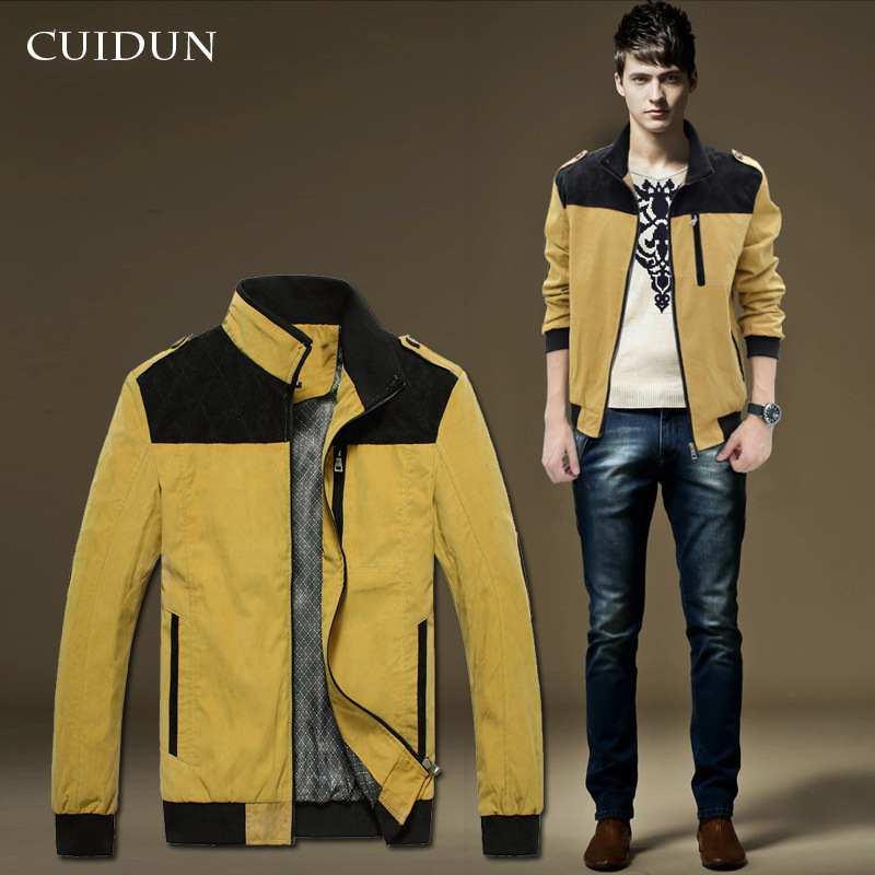 Online Buy Wholesale mens yellow trench coat from China
