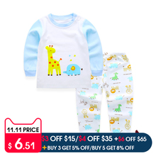Pyjamas Kids Children Toddler Boys Clothing set Baby Boys Clothes Sets Kids Sleepwear Winter Clothes Girls