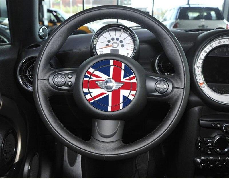 National Flag Steering Wheel Emblem Badge Stickers For Bmw Mini