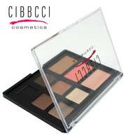 New Brand CIBBCI Light Eye Contour Eyeshadow Palette 9 Colors Beauty Makeup Natural Lasting Smoky Makeup