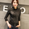 Autumn New Brand Women's Genuine Leather Jacket High-end Foam Leather/Sheepskin/Slim/Casual LW9067