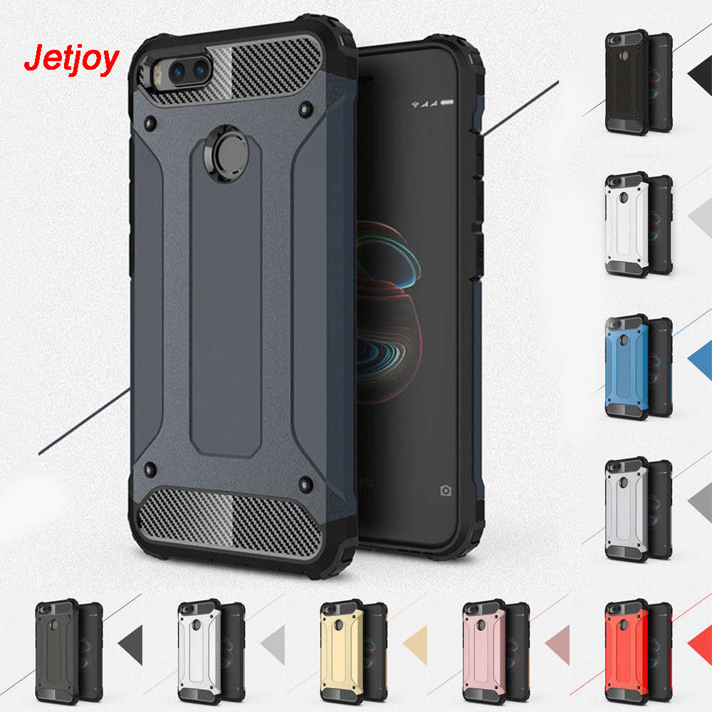 JETJOY Hybrid Armor Case For Xiaomi Redmi Note 5 Pro 6 Plus Luxury Heavy Duty Ultra Shockproof Tough Phone Cases Covers