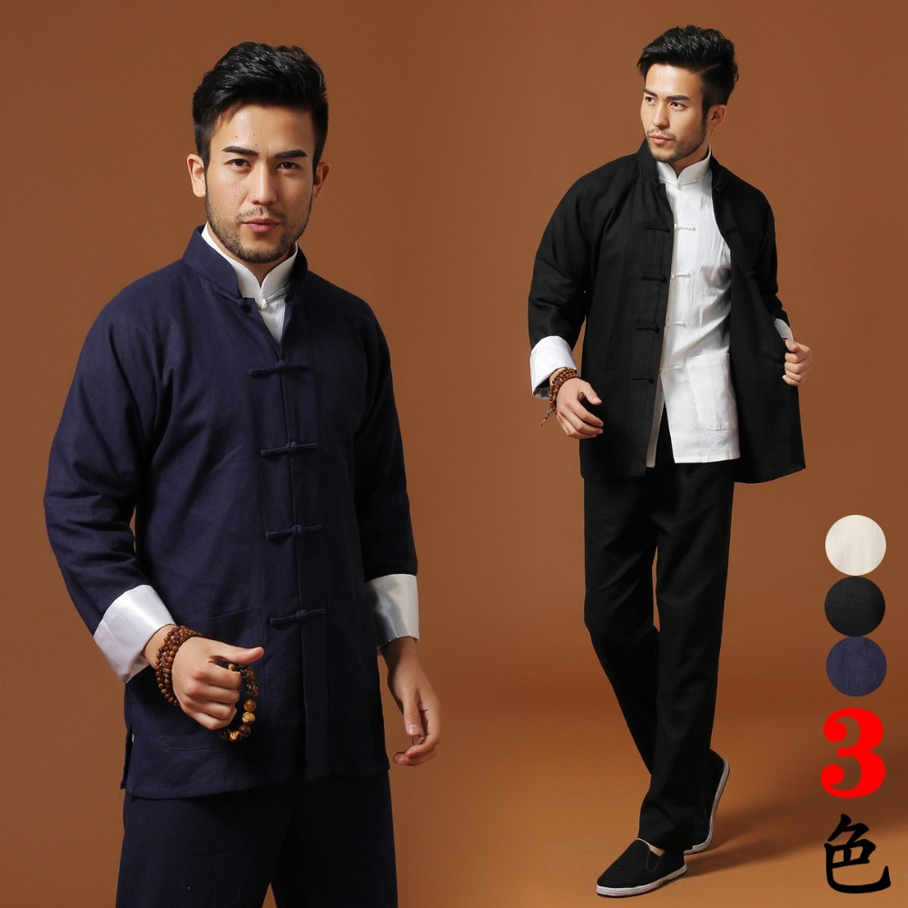 все цены на High Quality Cotton Linen kung fu clothes Bruce lee wing chun Tai chi Uniform Martial arts Suit Wushu Clothing jacket+pants онлайн