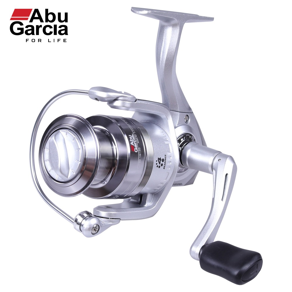 Abu Garcia 100% Original CARDINAL S Spinning Fishing Reel 500-6000 Front-Drag Fishing Reel 3+1BB abu garcia orra2sx 8 1bb 5 8 1 spinning fishing reel freshwater fishing line wheel bevel rocket spool fishing reel tackle tool