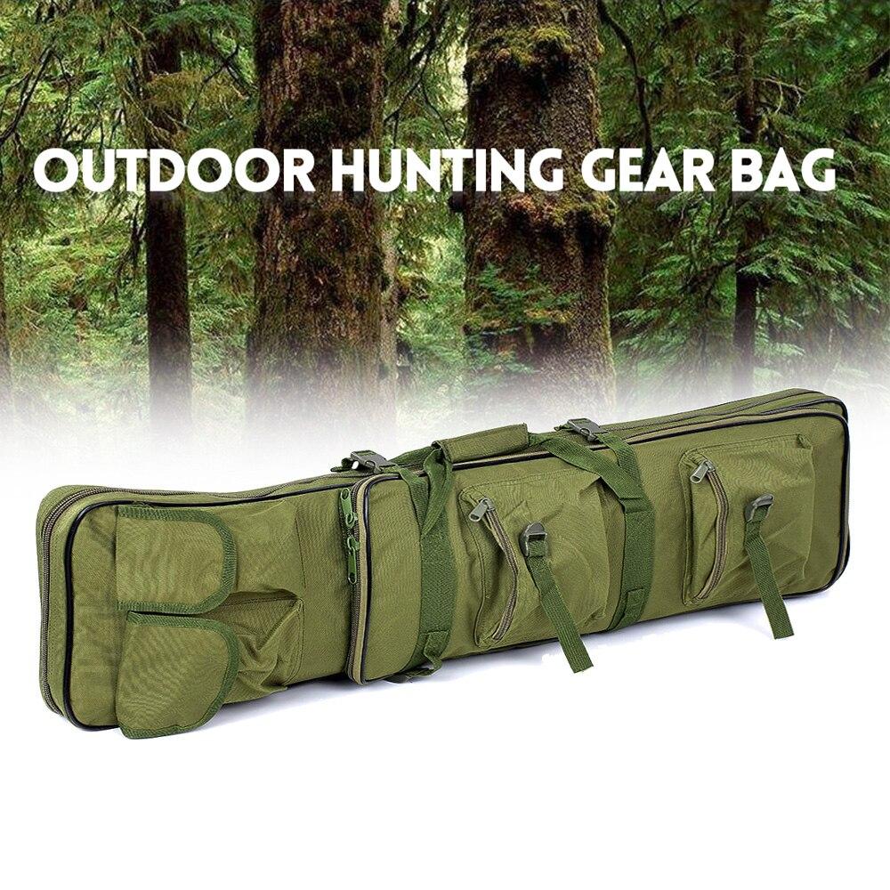 95cm / 120cm Outdoor Shooting Bag Hunting Gear Protection Case Shooting Carry Bag Adjustable Shoulder Strap Outdoor Bag