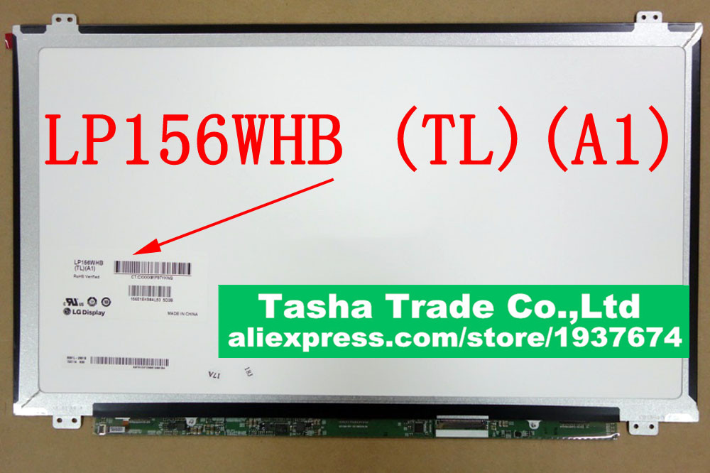 LP156WHB-TLA1 LP156WHB (TL)(A1) Martix 15.6 Slim LCD Screen LED Display 1366*768 HD Glossy Original Good Quality LP156WHB-TLA1 ttlcd new a 15 4 lcd screen led panels display lp154we3 tl a1 slim wsxga exact