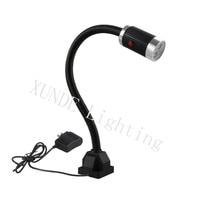 24-36V/110-220V LED Machine Work Light Waterproof Bolt On/Magnetic Industrial Work Light Gooseneck Industrial Table Lamp