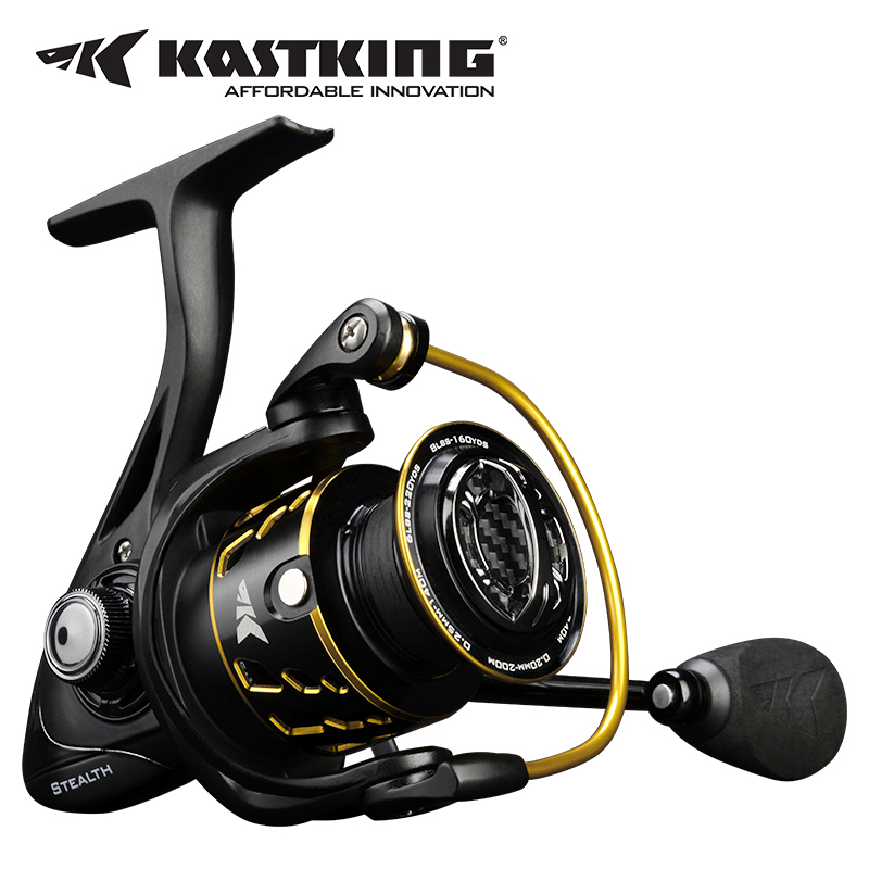 KastKing Stealth 2000 Series Spinning Reels Fishing Reel Max Drag 6.5kg Carp Fishing Spinning Saltwater Reels цена