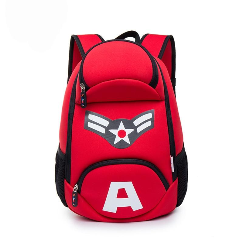 Cool Kids School Backpack Printing Captain America Backpack for Teenager Boys Girls Children Backbag Book Bag Mochila infantil комод бельевой baby expert perla крем золотой