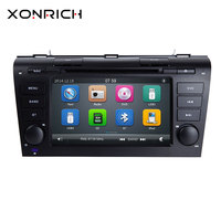 AutoRadio 2din Car DVD Player for MAZDA3 MAZDA 3 2004 2005 2006 2007 2008 2009 Tape Recorder Stereo Bluetooth GPS Navigation RDS