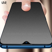 UVR For OPPO K1 A3S Matte Frosted Tempered Glass No Fingerprints For OPPO A1 A3 A5 A7 A7X A83 A79 A77 A73 A59S Screen Protector(China)