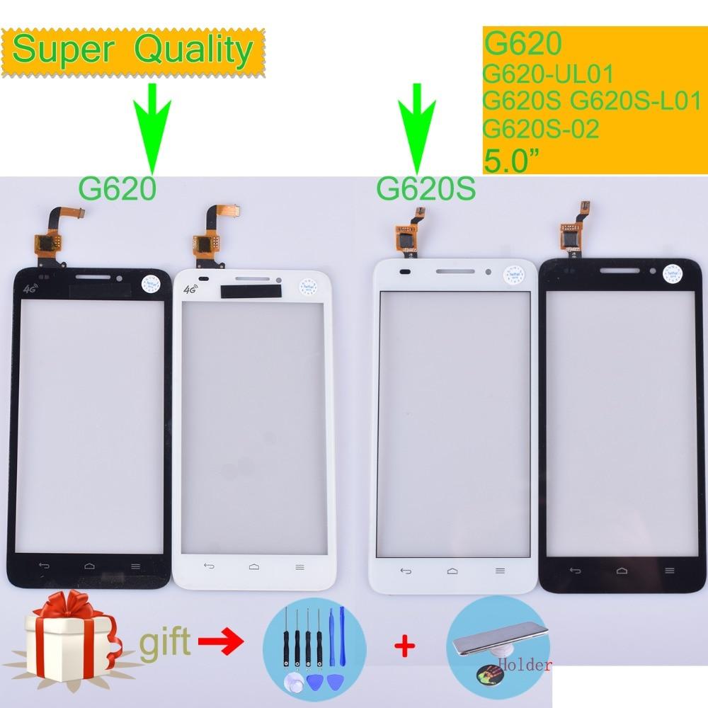 Pour Huawei Ascend G620 G620-UL01 écran tactile écran tactile capteur numériseur G620S G620S-L01 G620S-02 écran tactile en verre G620S-L03