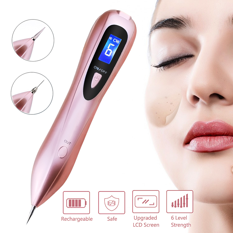 Professional Mole Removal Sweep Spot Pen Electric Ion Wart Tag Tattoo Speckle Nevus Mole Freckle Removal Pen Beauty machine laser freckle removal machine skin mole removal dark spot remover for face wart tag tattoo removal pen salon home beauty care