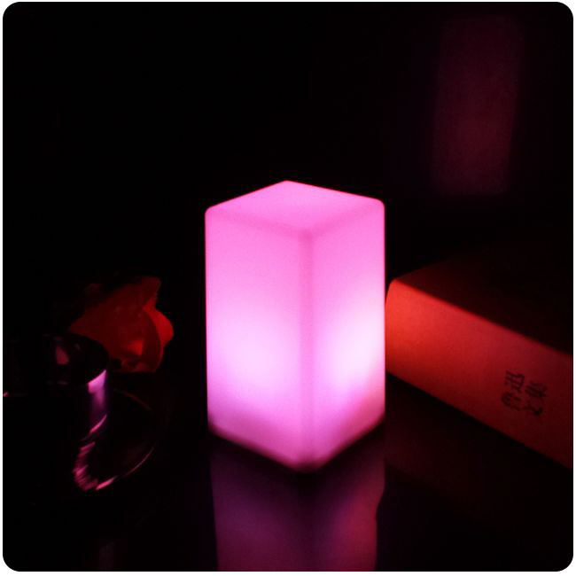 Battery Led Cubes Led Glow Cube Stools Led Luminous Light Bar Stool Color Changing For Event/Party/Wedding/Pub/Night club 50pcs