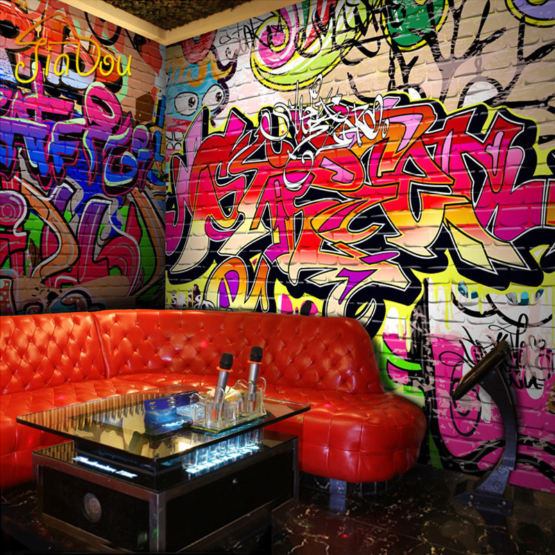 graffiti wall murals reviews online shopping graffiti. Black Bedroom Furniture Sets. Home Design Ideas
