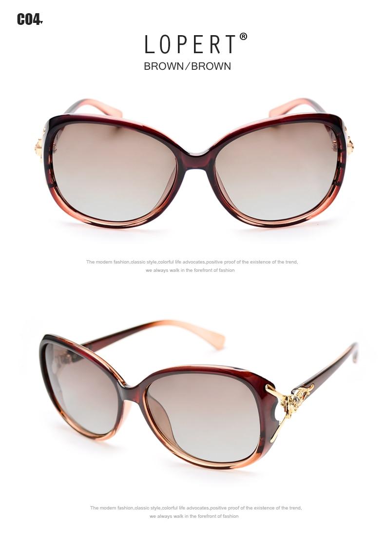 c2ae8ee3c6e5 ... LOPERT Hot Polarized Sunglasses Women Fashion Cat Eye Glasses Women  Brand Designer Elegant Driving Sun sunglasses ...