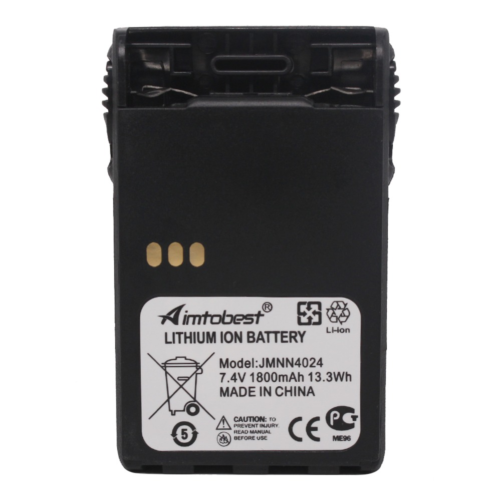 JMNN4024 JMNN4023 1800 mAh Batterie Pour Motorola PRO5150 PRO7150Elite GP344 GP388 GP644 GP688 EX500 EX560 EX600 GL2000 GP328PlusJMNN4024 JMNN4023 1800 mAh Batterie Pour Motorola PRO5150 PRO7150Elite GP344 GP388 GP644 GP688 EX500 EX560 EX600 GL2000 GP328Plus
