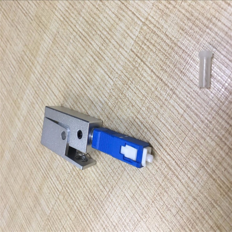 SC Square Bare Fiber Adaptor, Bare Fiber Test Flange, SC Temporary Coupler