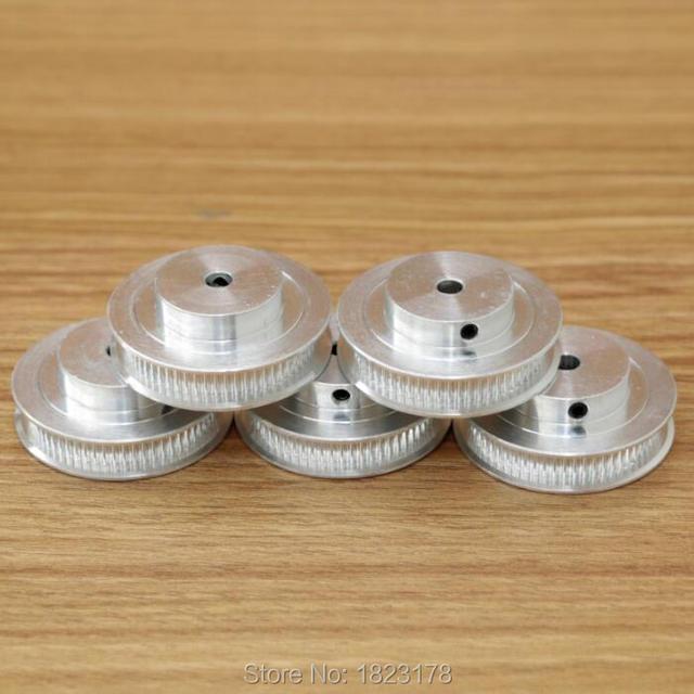Poulie de synchronisation à dents 2GT 60   1 pièces, GT2 60 dents, alésage de 5mm 6.35mm 8mm 10mm 12mm, courroie adaptée largeur 6mm 2GT 60 dents, haute qualité