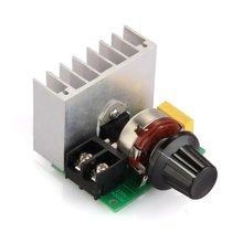 1 ШТ. 4000 Вт Регулятор Напряжения Диммеры Скорость Термостат Регулятор Вольт Высокой Мощности