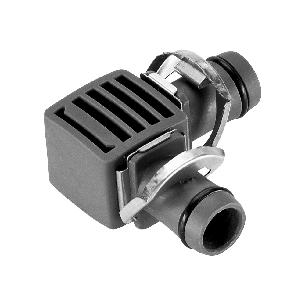 Connector GARDENA L-shaped 13 mm (1/2 ) Home & Garden Garden Supplies Watering & Irrigation Garden Water Connectors 100pcs 1 4 od y type tee 3 way tube quick connect push fit ro water reverse osmosis system to connector water tube fitting