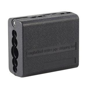 Image 1 - Envío Gratis 4,5mm 11mm cinta centro Longitudinal Cable Stripper tubo cortadora del cortador de Cable