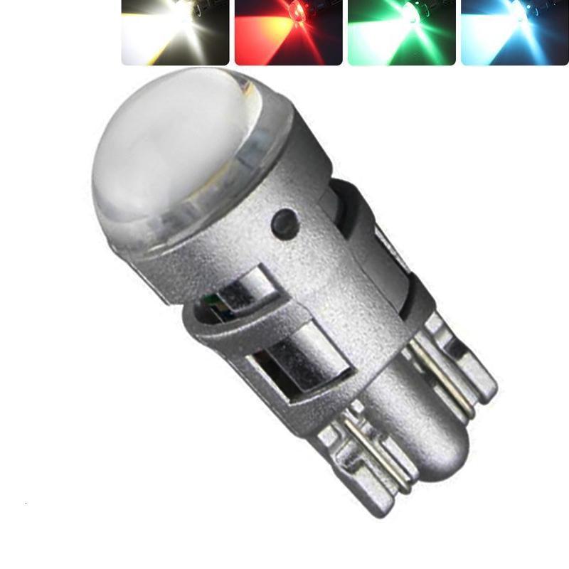 10 X T10 12V W5W 3528 194 168 Cars From Canbus Led white Light-Emitting Diodes 5630 Independent Led No Errors Univ era Auto Lamp