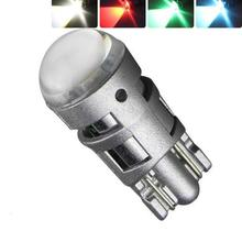 2Pcs T10 W5W 2W 6000K 194 168 Cars From Canbus Led white Light-Emitting Diodes 5730 Independent No Errors Univ era Auto Lamp